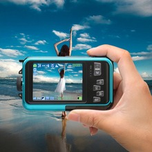 Newest  Digital Camera Waterproof 24MP MAX 1080P Double Screen 16x Digital Zoom Camcord hot