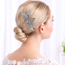 Miallo  Leaves  Hair Accessories   Hair Comb  Bridemaid Prom hair  Jewelry Combs