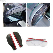 1Pair Car Back Mirror Eyebrow Rain Cover For Ford Focus 2 3 4 Mondeo Fusion Kuga Ecosport Fiesta Falcon EDGE EVOS