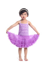 retail! hot sale baby fashion rosette children baby dress for girls factory direct sale made in china RDS004(China)