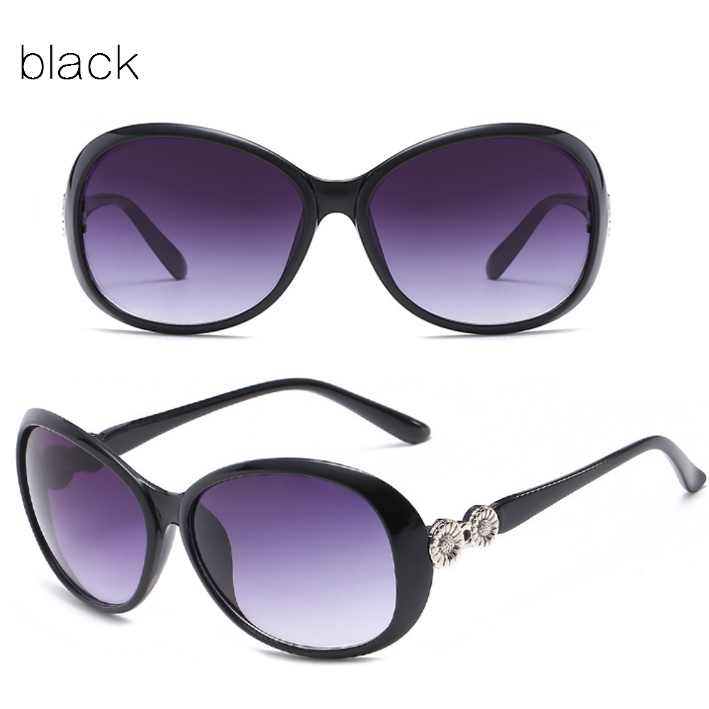 Personality Fashion Sunglasses Accessories Outdoor Street Shooting Ladies Plastic Frame Sun Glasses Brand Designer Oval Glasses