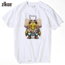 2017 Mens T Shirt Viking Custom Made Hip Hop Graphic Father's Gift Summer Clothing Short Sleeve Men t-shirts XXXL