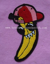 Custom banada chenille patch/China towel embroidery patches