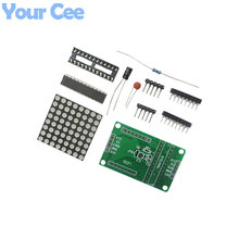 MAX7219 Dot Matrix Module MCU Control LED Display DIY Kit for Arduino Brand New