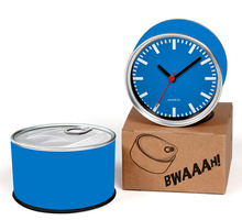 Blue Color Designs Kitchen Fridge Magnets Wall Reloj Cheap Desk Table Function Clocks 2pcs a lot Free Shipping(China)