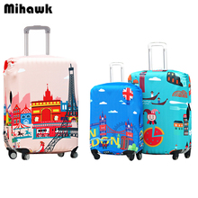 Waterproof Elastic Luggage Protective Cover For 20 to 30 inch Trolley Suitcase Protect Dust Bag Case Travel Accessories Supplies