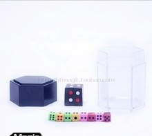 Free shipping 2sets big magic tricks bombing dice magic dice