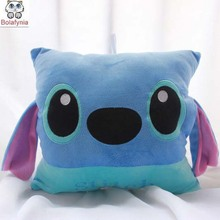 Batch Stitch plush toys creative gifts cartoon Warmer Cushion Stuffed toy