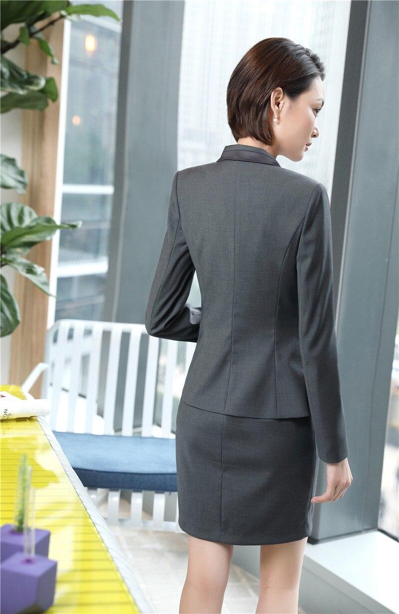 Compre Diseños Formales Uniformes Blazers Trajes Con 2 Piezas Tops Y ... 7f36e5e327e7