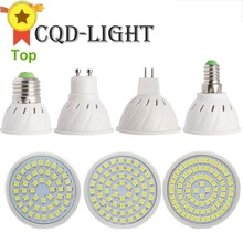 CQD-LIGHT E27 E14 MR16 GU10 LED Bulb Lamp 110V 220V Bombillas LED Lamp Spotlight 48 60 80 LED 2835 Spot cfl Grow Plant Light