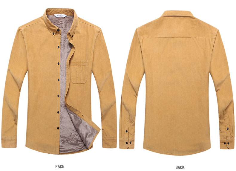 corduroy wine shirt khaki 02