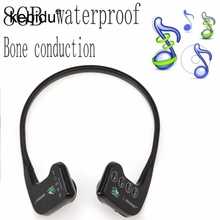 Kebidu 8GB bone conduction generation waterproof mp3 waterproof underwater swimming headset MP3 Player(China)