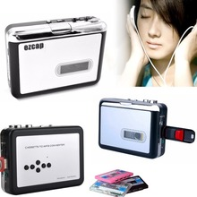 New Ezcap Old Cassette tape to MP3 converter to USB Flash Drive U Disk ,Walkman Player, with auto-reverse,Metal chips,NO PC Need(China)