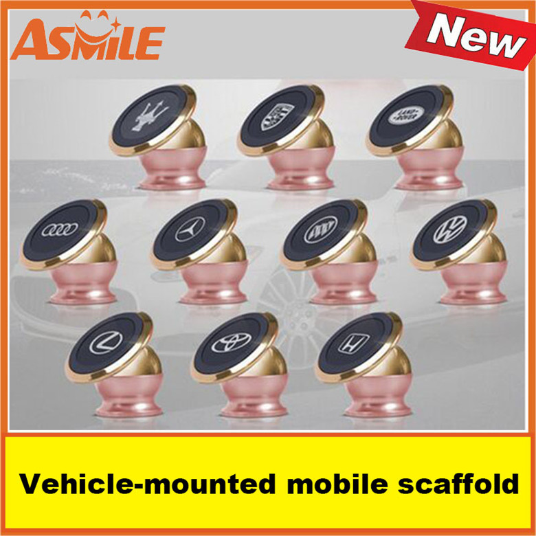 360degrees of arbitrary rotating stents Magnetic magnetic Vehicle-mounted mobile scaffold tablet computer navigating instrument<br><br>Aliexpress
