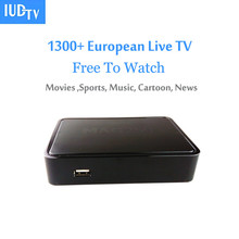 Linux Mag250 IPTV Set Top Box with Europe Arabic Subscription Support French Russia Germany UK Channels Mag 250 TV Box