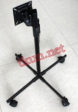 Supply Mobile / Lift adjustable tilt angle LCD monitor base stand(China)