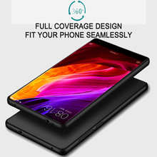 Xiomi Xiaomi Mi Mix Case 6.4 inch Full Body Frosted Silicone Soft Cover Case For Xiaomi Mi Mix Cell Phone Back Cover Case