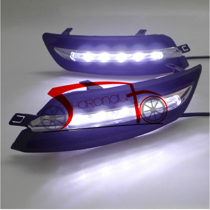 LED Daytime Running Light for Teana 10-12 LED Daytime lamp DRL<br><br>Aliexpress