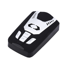 Luturadar Full band radar detector anti police laser speed gun car-detector Spanish/Russian/English Voice alert 360 degree(China)