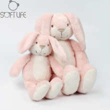 23CM/31CM Pink Rabbit Plush Doll Toy Long ear Rabbit Stuffed Animals Sleeping Bunny Soft Toys For Kids Baby Gift Chouchou Dolls