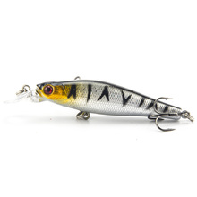Brand Fly Fishing Lifelike Lure Hard Bait Medium Diver Tight Wobble Slow Floating 7.9g 8cm 5 Colors Minnow Crankbait 1Pcs/lot