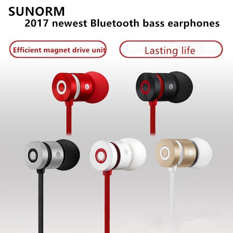 Freeshipping bt-w1 Bluetooth Earphone Sport Running With Mic HIFI Wireless Earphone Bass Bluetooth For IOS Andriod Phone