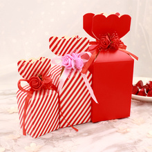 10pcs Free shipping New vase-shaped sugar gift box Wedding candy children Wedding gifts for guests candy chinese Gift candy box