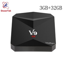 V9 3GB RAM 32GB EMMC Android 7.1 TV BOX Amlogic S912 Octa Core 2.4G&5G Dual WiFi BT4.0 4K 3D H.265 HDR10 Smart Media Player(China)