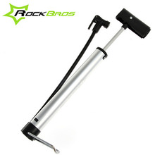 Rockbros Road Bike Alloy Cycling Bicycle Floor Type Pump Presta/Schrade Valve Mini Portable Tire Inflator Air Pump 120 psi