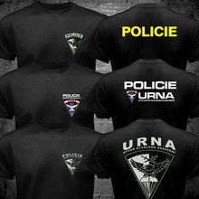 Tee Shirt Swat Czech Republic Tactical-Police Military-T Fashion Anti-Terrorist Urna