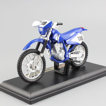 1:18 scale children mini metal Diecast YAMAHA TT-R250 motorcycle Motocross dirt bike race models auto cars Toys for collection