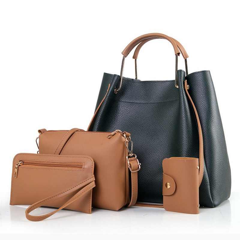 ed29cd5d1a42 Laamei Women Handbag Bags For Women 2018 Handbags PU Leather Shoulder Bags  Female Crossbody Bag Tote