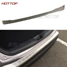 ACCESSORIES FIT FOR Toyota C-HR CHR 2017 REAR BUMPER PROTECTOR STEP PANEL BOOT COVER SILL PLATE TRUNK TRIM