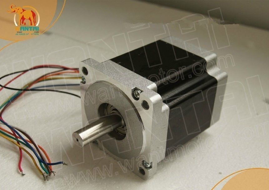 PROMOTION ! NEW !! 1PC Nema 34 Wantai Stepper Motor 486oz-in CNC Mill Engrave,34HS7440,Robot arm<br>