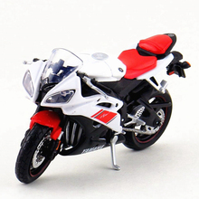 Maisto 1/18 Scale Motorbike Toy, Simulation YAMAHA YZF-R6 Motor, Diecast Metal Motorcycle Model, Kids Toys, Brinquedos Boys Gift
