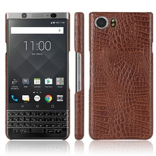 "KSQ New Type Crocodile Skin PU Leather Phone Case For BlackBerry KEYone Mercury PRESS DTEK70 4.5"" Cases Back Cover phone bag(China)"
