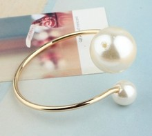 Buy New style Wholesales Hot New 2017 Fashion Simple imitation pearl Bangles Bracelet Accessories Jewelry Accessories for $1.30 in AliExpress store
