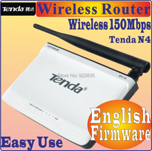 [English Firmware] TENDA N4 150M 150Mbps WiFi Wireless Home Router Easy Install Support WDS, RJ45 5 Ports Router, 802.11b/g/n