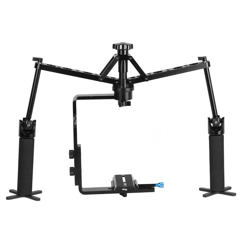 DSLR Rig Camera Video Handheld Mechanical Stabilizer Spider Comodo Orbit Following Shot 70D 6D 5D2 5D3 7D D610 D810 D7100<br><br>Aliexpress