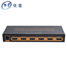 4K UHD 5 Port HDR HDMI Switcher 5x1 hdmi2.0 switch 4096x2160p60hz 1080p 3d five input one output