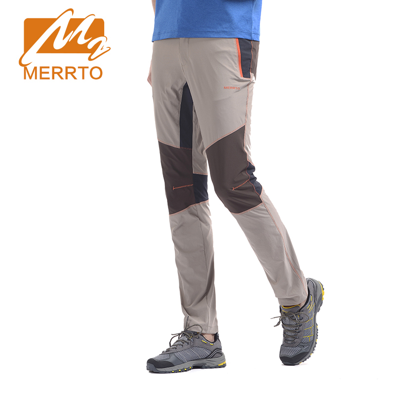 MERRTO 2016 Breathable Hiking Pants For Men Outdoor Climbing Camping Pants Women Quick dry Trousers For Men Trekking Pants Man<br>