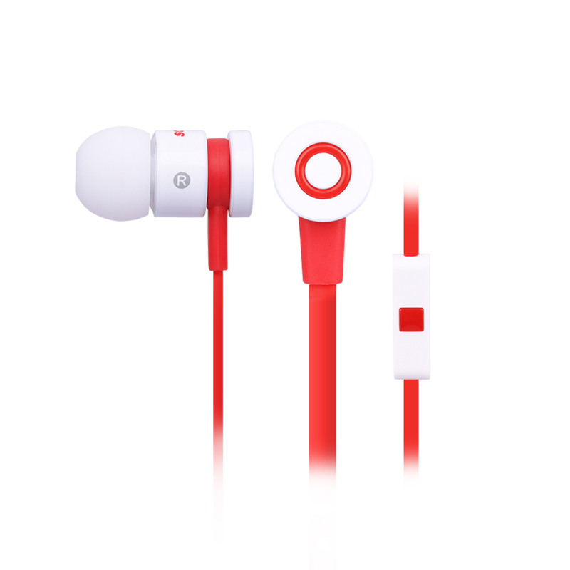 Somic MH406 In Ear Eeadphones 3.5mm Earbuds for iPhone Samsung With Remote And MIC(China)