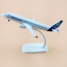 16cm Alloy Metal Prototype Airbus 320 A320 Airlines Model ProtoMech Aircraft Airplane Model Plane Model W Stand Wheels  Gift