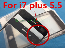 10pcs/lot NEW Replacement LCD Front Touch Screen Glass Outer Lens for iphone 7 plus 5.5inch A+