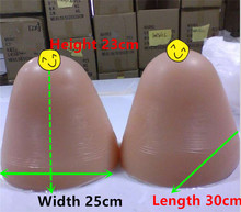 Buy 12 Kg/pair Huge Crossdresser Breast Forms Drag Queen Transgender Artificial Breast Fake Boobs Silicone Breast Prosthesis