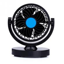 2016 Summer Low Noise 12V 3W 360 Rotating 2 Speed Strong Wind Car Fan Portable Mini Fan Suitable for most vehicles car bus