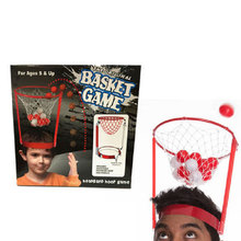 Creative Child Basketball Frame Basket Case Headband Game Interactive Toy(China)