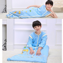 Pure cotton sleeping bag child student qiu qiu dong children play was extended more creative gift, practical household