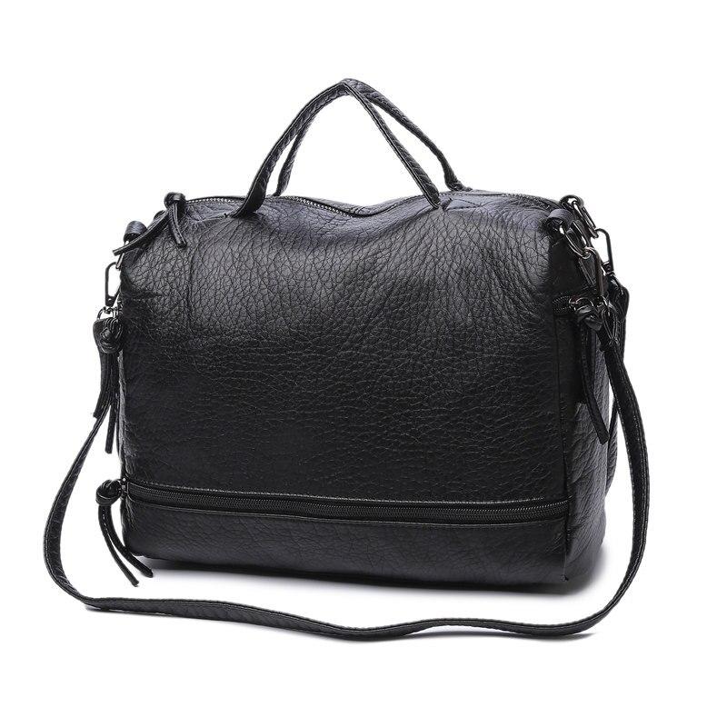 Fashion Waterproof Pu Leather Crossbody Bag Vintage Women Messenger Bag Motorcycle Shoulder Bag Large Women Handbag<br><br>Aliexpress