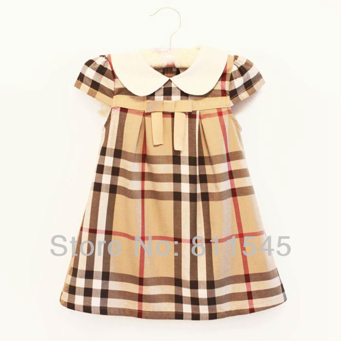 Fashion Beautiful Classic Baby Girls Dresses Summer 2017 New Arrival Toddler Princess Kids Clothes for Children Clothing Wear<br><br>Aliexpress